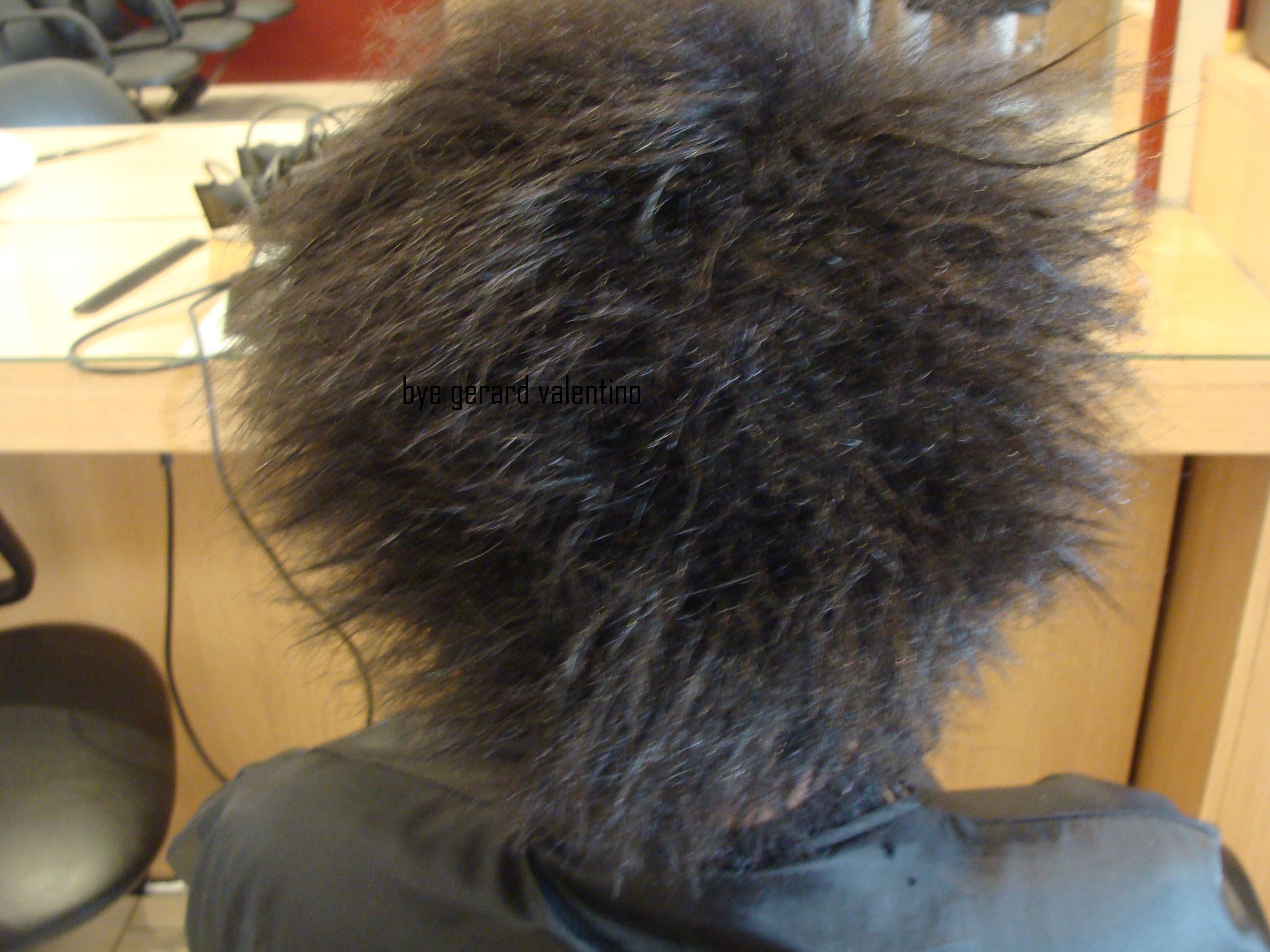 Un lissage cor en timoe sur cheveux afros - Carre plongeant frise naturel ...