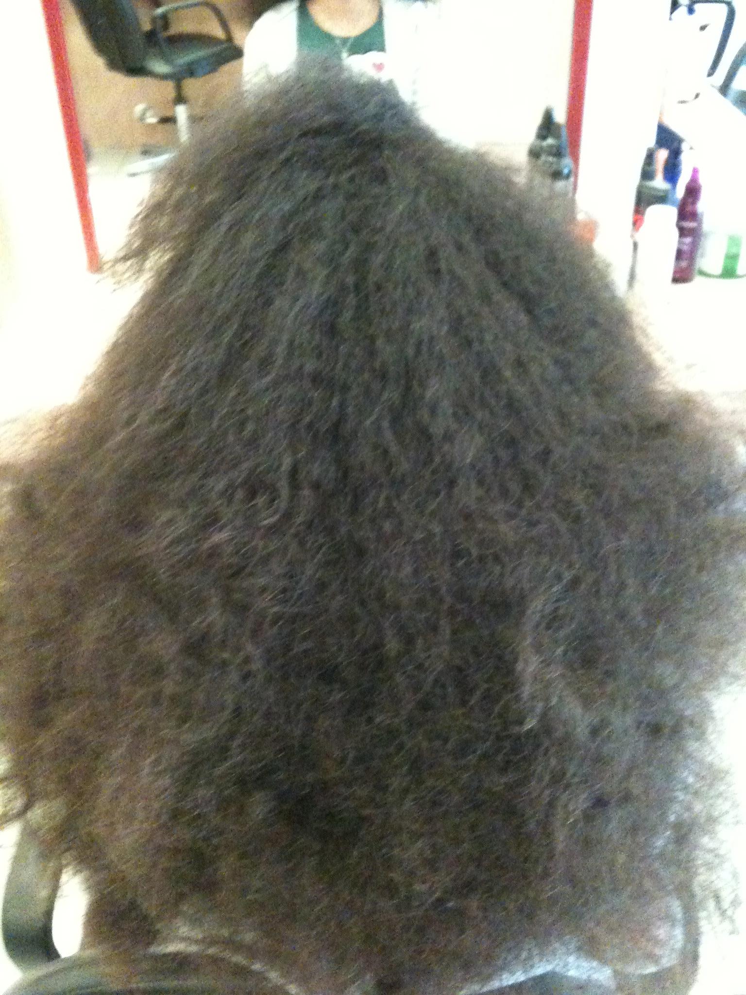 Lissage bresilien cheveux afro nantes